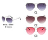 S2097 - Classic Metal Aviator Fashion Sunglasses - Iris Fashion Inc. | Wholesale Sunglasses and Glasses