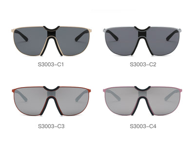 S3003 - Large Oversize Aviator Sunglasses - Iris Fashion Inc. | Wholesale Sunglasses and Glasses