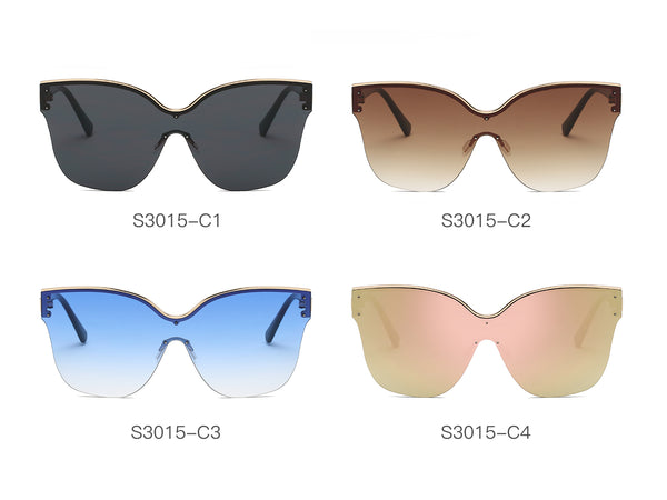 6de744a4c39 S3015 Women Fashion Square Oversize Sunglasses - Wholesale Sunglasses and  glasses ...