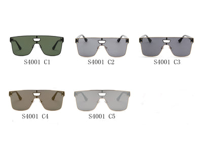 S4001 - Unisex Retro Vintage Square Sunglasses - Wholesale Sunglasses and glasses