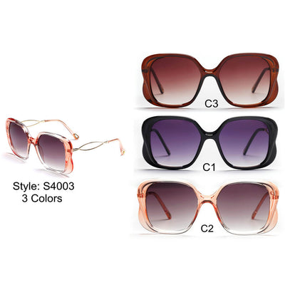S4003 - Women Square Fashion Sunglasses - Wholesale Sunglasses and glasses