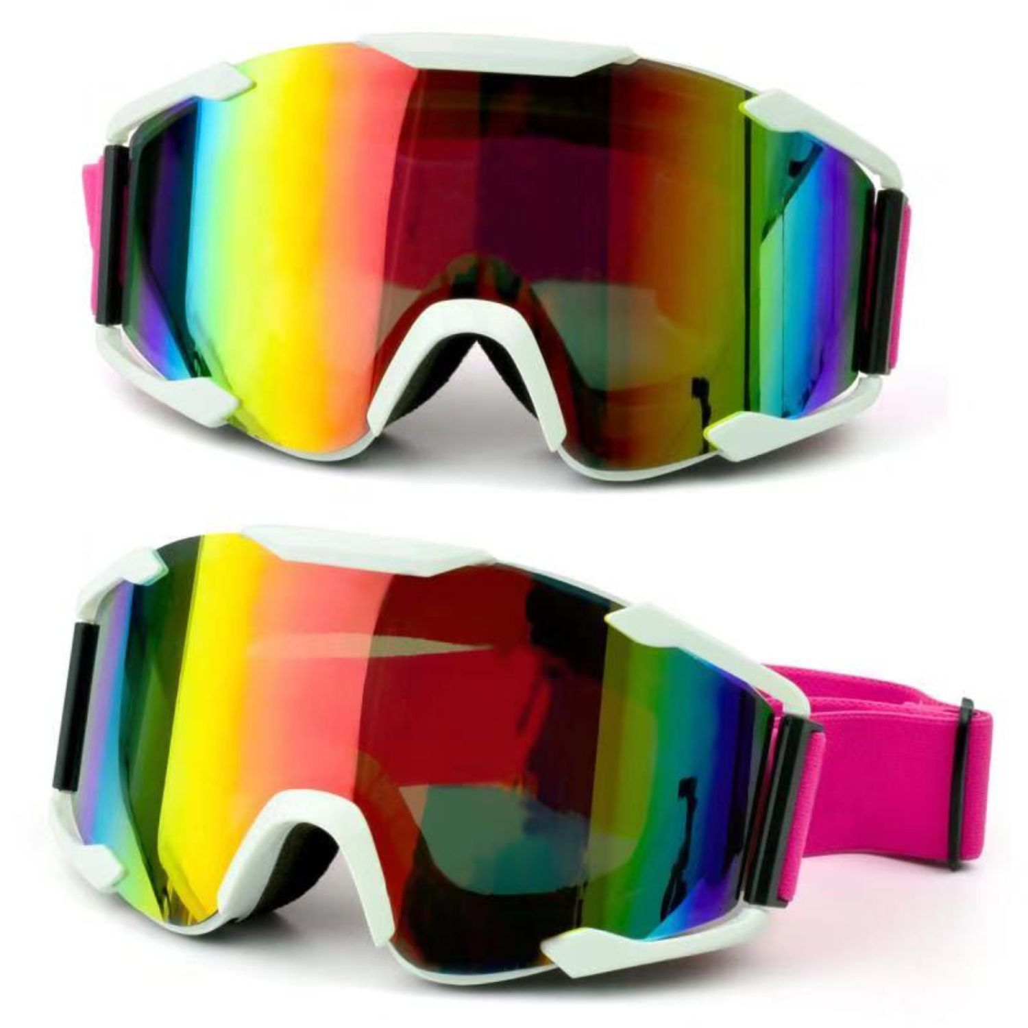 SG05 - Ski Snowboard Goggles for Men and Women with UV Protection