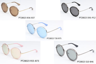 SHIVEDA-PT28023 - Women Round Polarized Fashion Sunglasses - Wholesale Sunglasses and glasses