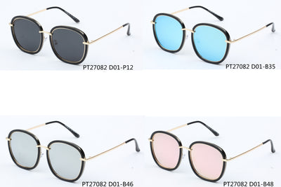 SHIVEDA-PT27082 - Women Round Polarized Fashion Sunglasses - Wholesale Sunglasses and glasses