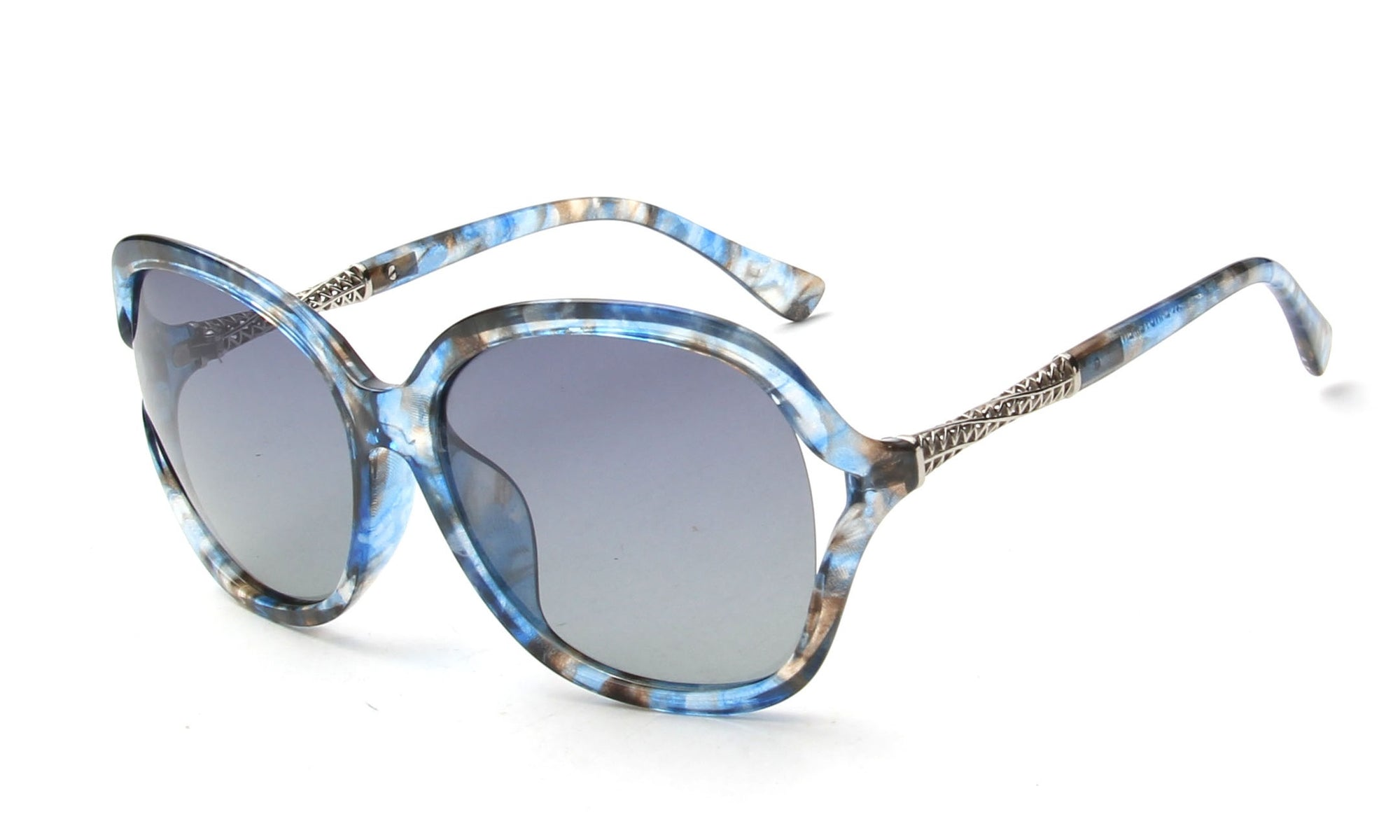 LAT-T30034 - Women Polarized Oversize Fashion Sunglasses - Wholesale Sunglasses and glasses