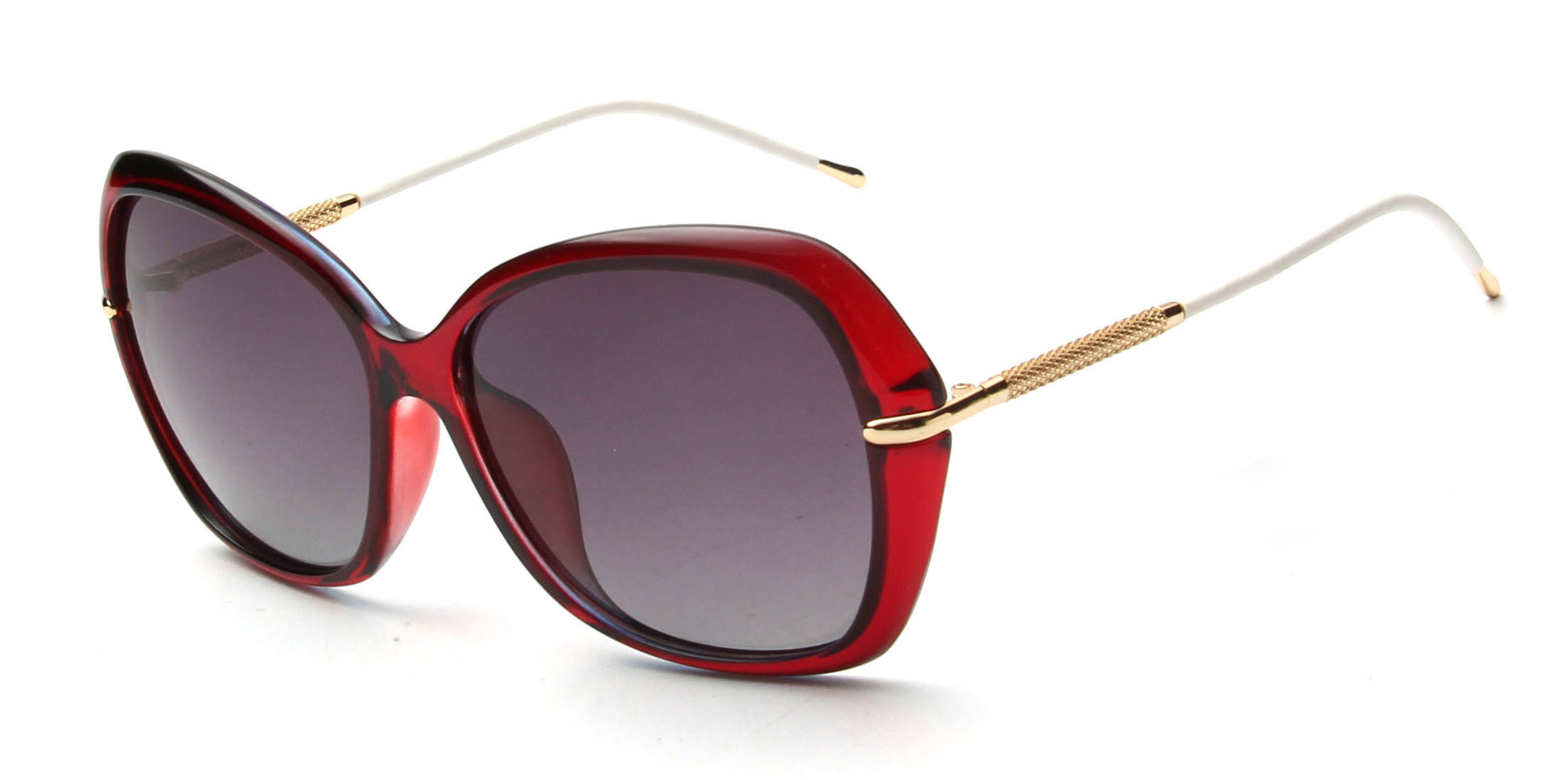 LAT-T30035 - Women Polarized Oversize Fashion Sunglasses - Wholesale Sunglasses and glasses