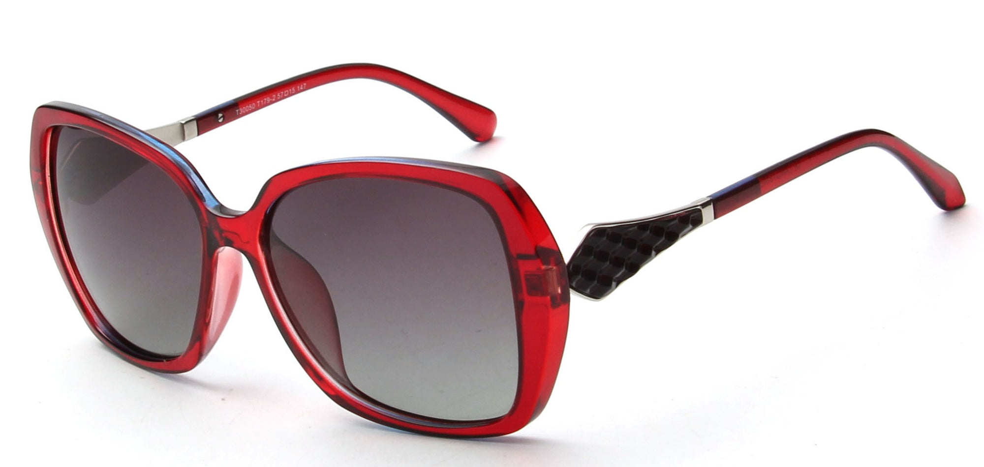LAT-T30050 - Women Square Oversize Polarized Sunglasses - Wholesale Sunglasses and glasses