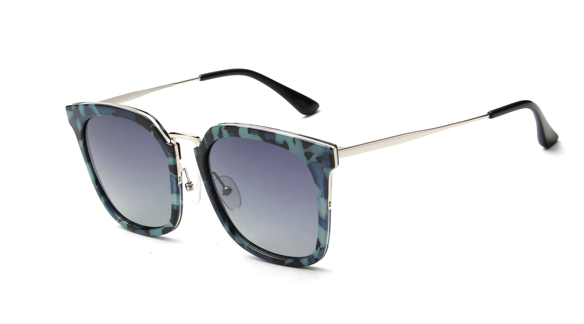 LAT-T30052 - Classic Polarized Square Fashion Sunglasses - Iris Fashion Inc. | Wholesale Sunglasses and Glasses