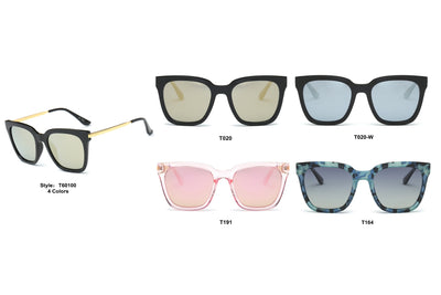 PRSR-T60100 - Women Polarized Fashion Cat Eye Sunglasses - Iris Fashion Inc. | Wholesale Sunglasses and Glasses