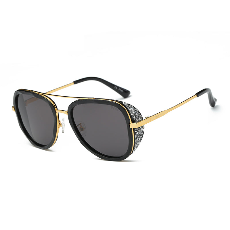 PRSR-T60102 - Round Polarized Fashion Sunglasses - Iris Fashion Inc. | Wholesale Sunglasses and Glasses