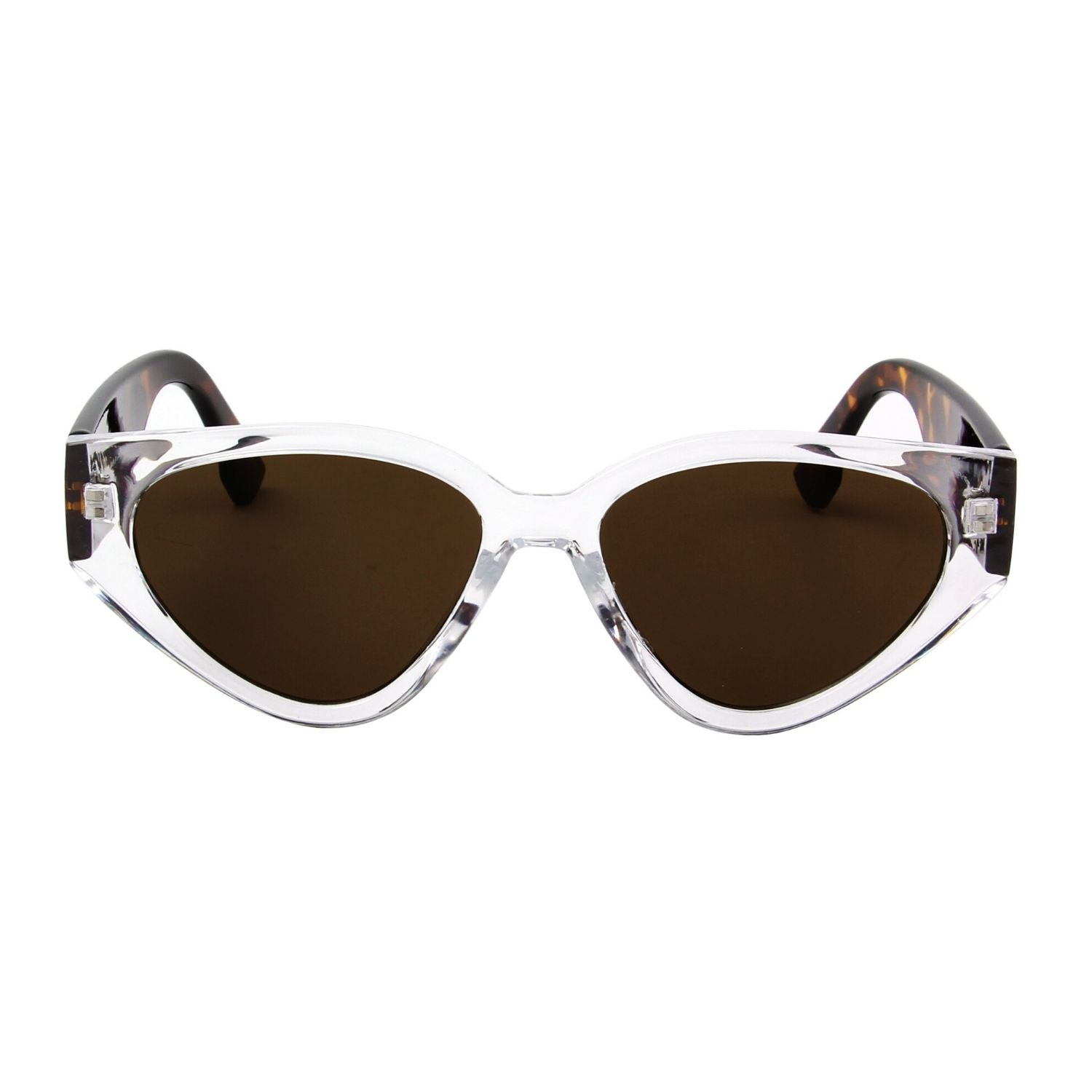 S1145 - Women Round Cat Eye Fashion Sunglasses