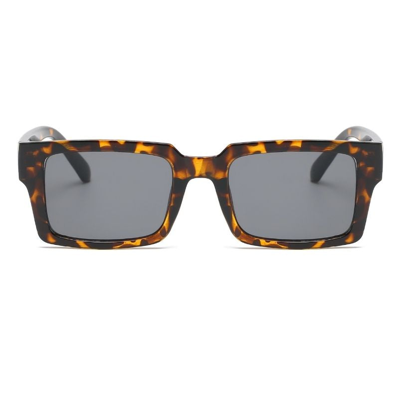 H1025 - Retro Vintage Square Unisex Fashion Sunglasses