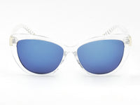 E35 Deluxe Oversize Cat Eye Sunglasses w/ Textured Arms - Wholesale Sunglasses and glasses