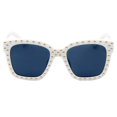 D34 - Hipster Marquee Lights Square Frame Sunglasses - Iris Fashion Inc. | Wholesale Sunglasses and Glasses