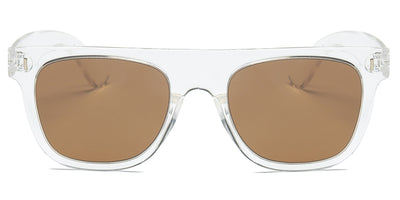 S1030 - Classic Square Mirrored Lens Sunglasses - Iris Fashion Inc. | Wholesale Sunglasses and Glasses