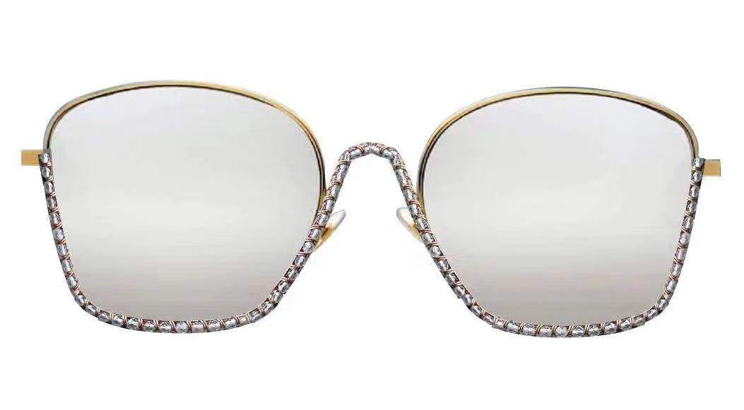 Women Metal Oversize Fashion Sunglasses - Iris Fashion Inc. | Wholesale Sunglasses and Glasses
