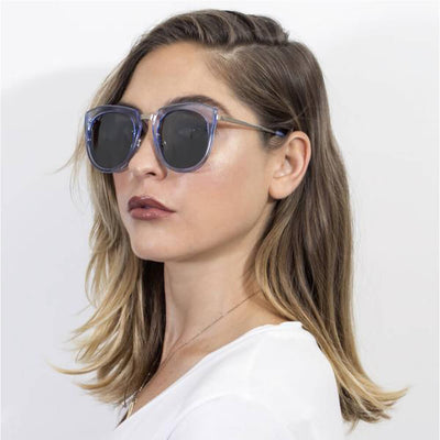 CA12 - Mirrored Polarized Lens Oversize Cat Eye Sunglasses - Iris Fashion Inc. | Wholesale Sunglasses and Glasses