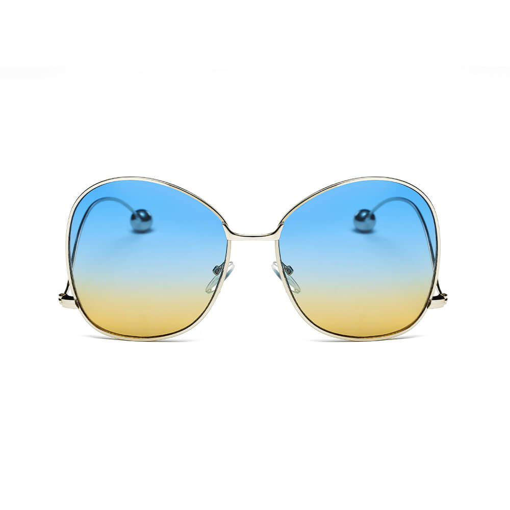 CD05 Women's Trendy Oversize Pantone Lens Sunglasses - Iris Fashion Inc. | Wholesale Sunglasses and Glasses
