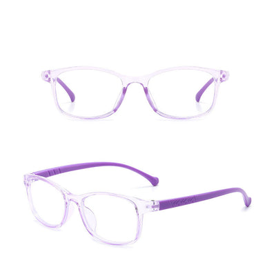HK1004 - Kids Classic Rectangle Blue Light Blocker Glasses