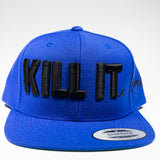 KILL IT SNAPBACK BLACK LOGO