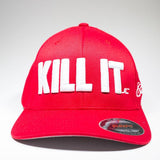 KILL IT WHITE LOGO FLEXFIT