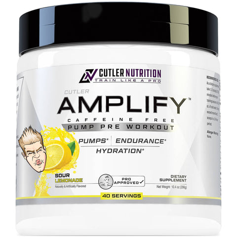 AMPLIFY PUMP PRE WORKOUT