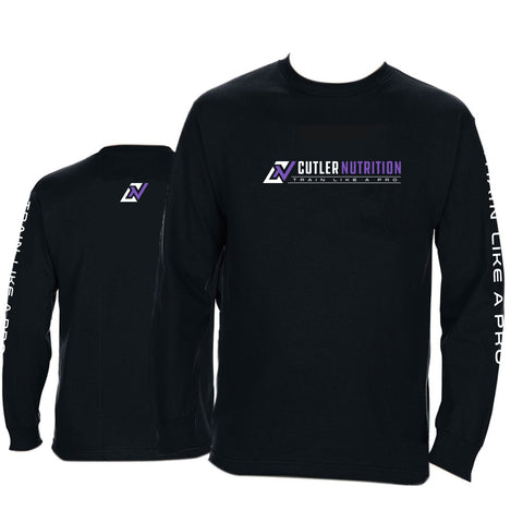 CUTLER NUTRITION TRAIN LIKE A PRO LONG SLEEVE