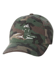 HEAD LOGO CAMO FLEX FIT HAT