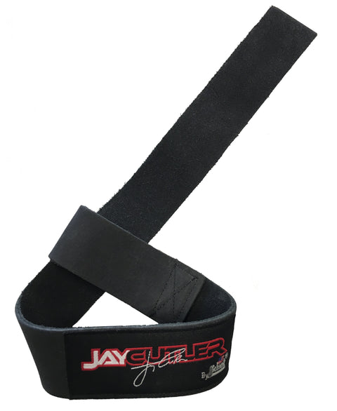 *JAY CUTLER* SIGNATURE LEATHER LIFTING STRAPS (1000-LLS)