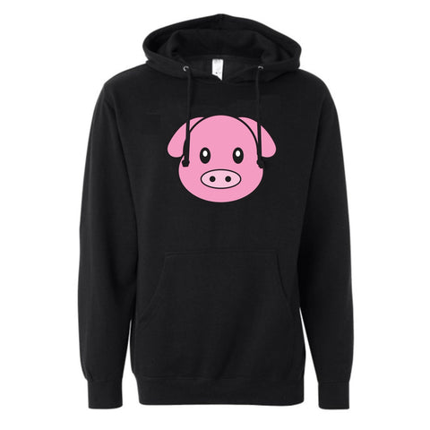 PIG HEAD LOGO PULLOVER FLEECE