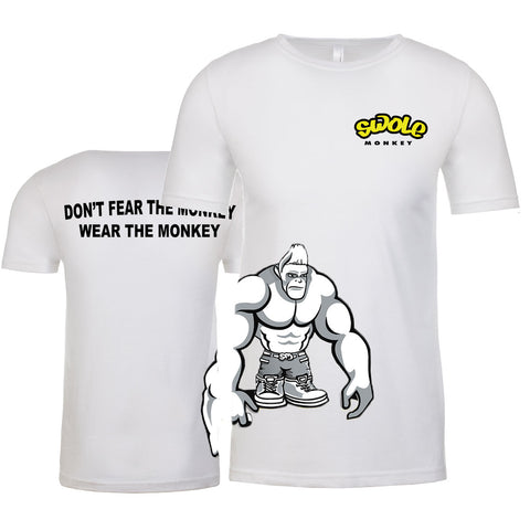 SWOLE MONKEY SIDE PRINT TEES