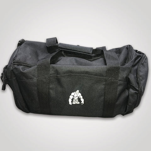 SWOLE MONKEY BLACK GYM BAG