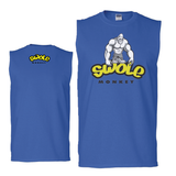 SWOLE MONKEY SLEEVELESS TEE