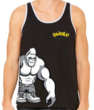 SWOLE MONKEY SIDE PRINT TANK