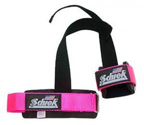 SCHIEK PINK POWER LIFTING STRAPS (MODEL 1000PLSP)