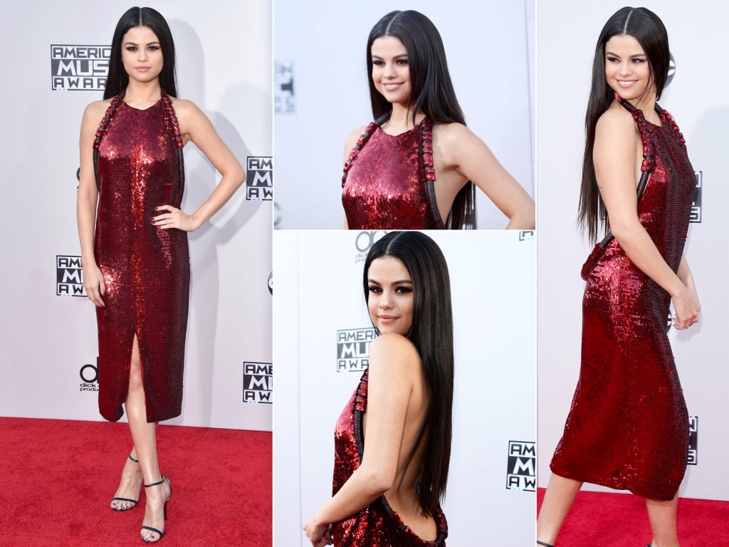 How to dress in sequin like :Sequin Queen Selena