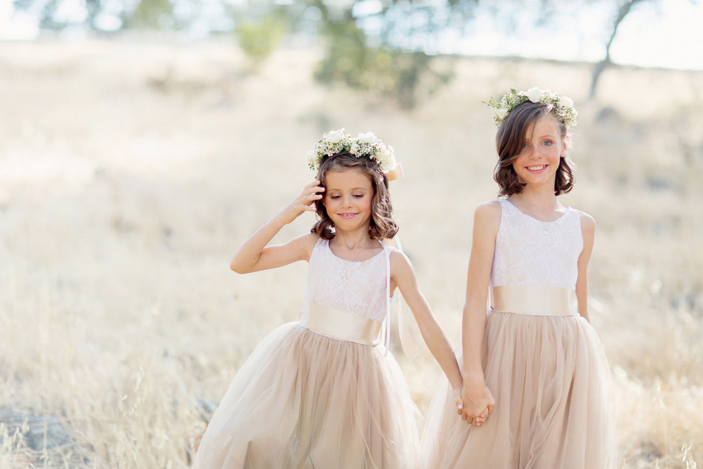 Be Cute Angels for Spring Wedding Ceremony