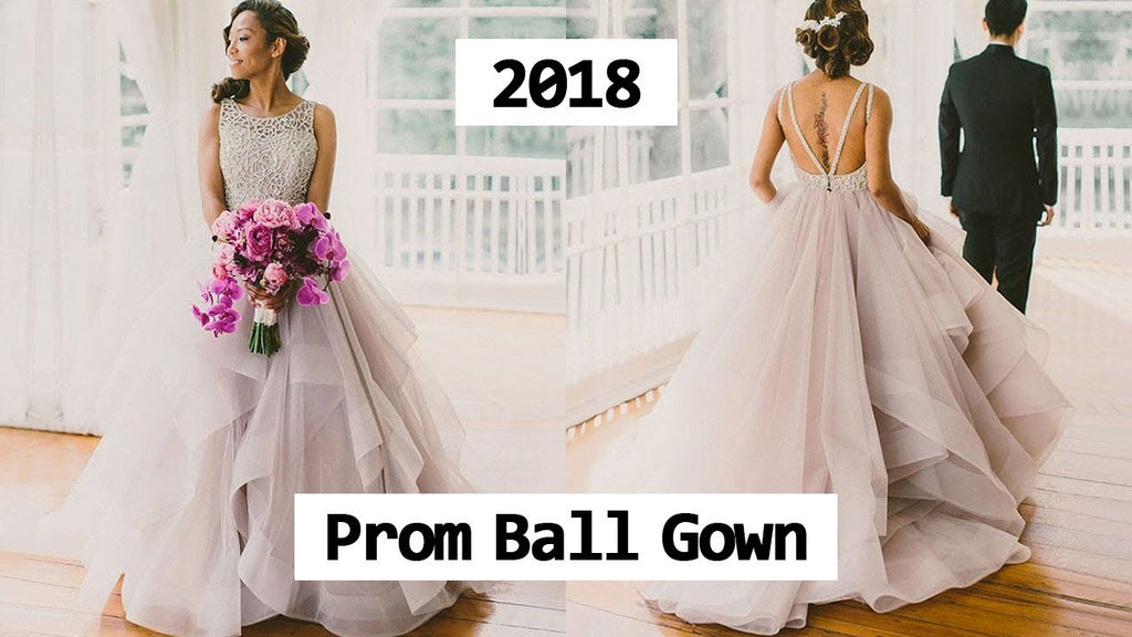 Look Beautiful With The Ball Gown Dress When You Wear It