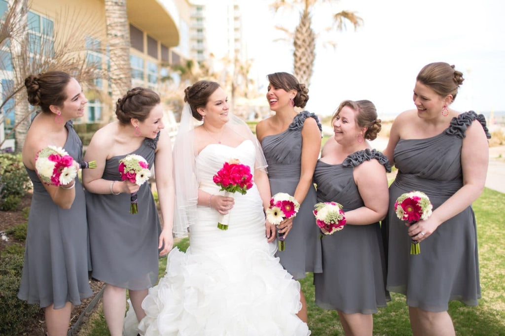 Look Stunning In Your Plus Size Maid Of Honor Dress