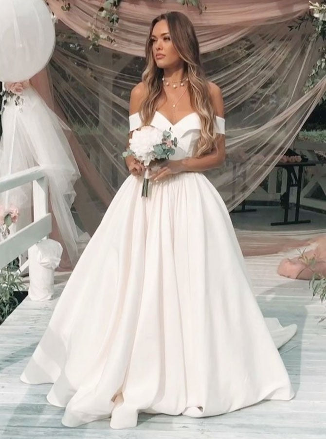 Blush Wedding Dress.Sheath Spaghetti Straps Appliques Detachable Train Blush Wedding Dress