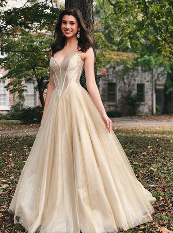 Elegant Long Sweetheart Light Champagne Prom Evening Dress 3244eb1dd