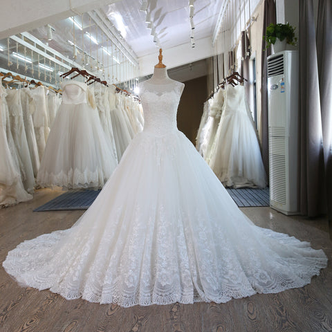 Lace Plus Size Wedding Dresses