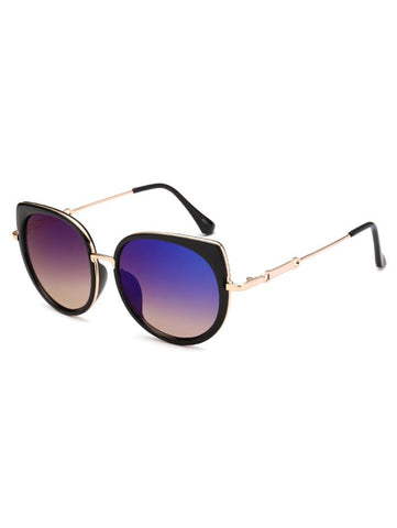 New Cat Eye Mirror Sunglasses