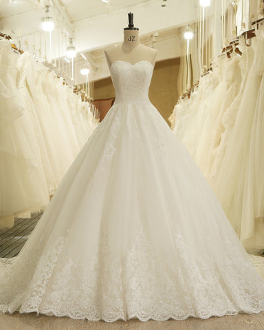 Lace Vintage Princess Wedding Dresses