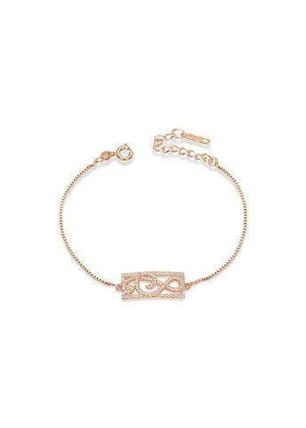 Rose Gold Musical Note Bracelet