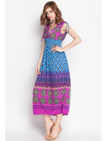 Chic Casual Hippie Bohemian Women Dresses