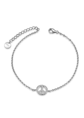 Crown 925 Sterling Silver Bracelet
