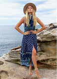 Summer Fashionable Bohemian Beach Floral Skirt