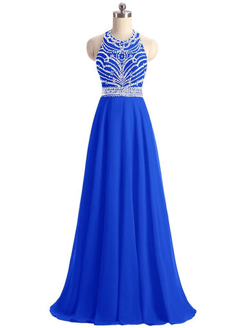 Chiffon Prom Dresses Evening