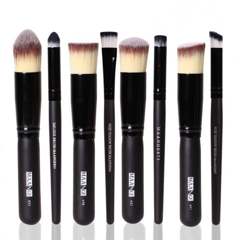 Soft Makeup Brushes Set Beauty Cosmetics